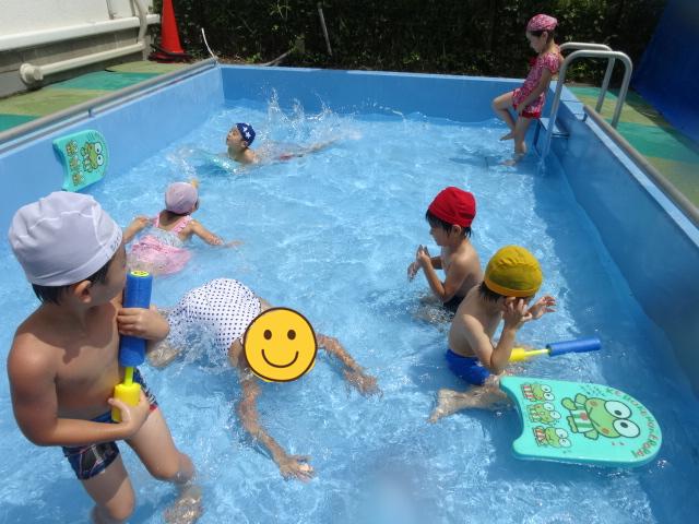 水遊び・プール開き